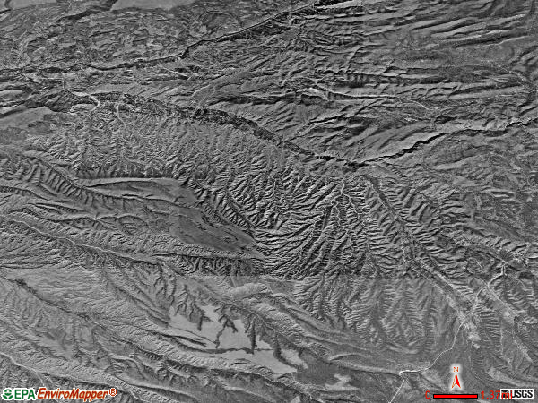 Dixon satellite photo by USGS