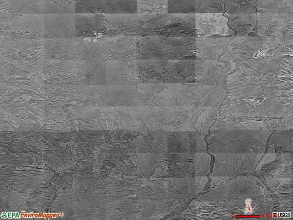 Tres Piedras satellite photo by USGS