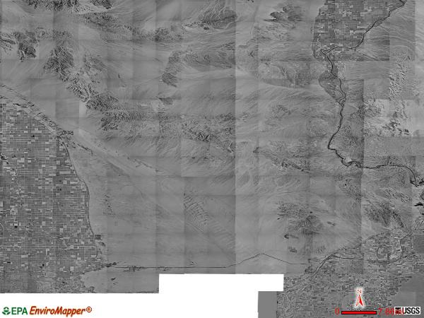 East Imperial satellite photo by USGS