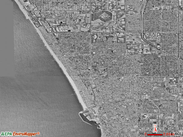 South Bay Cities satellite photo by USGS