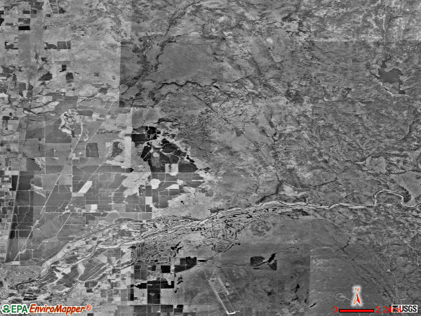 Marysville Rural satellite photo by USGS