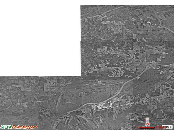 Belmont satellite photo by USGS