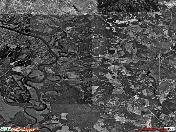 Beech Island satellite photo by USGS