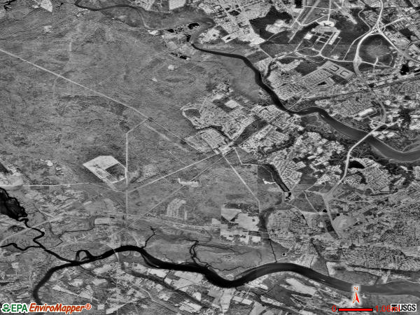 Bear Swamp satellite photo by USGS