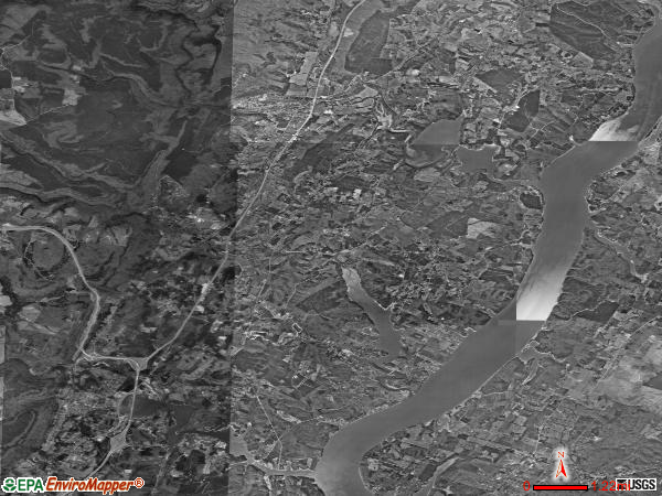 Sale Creek satellite photo by USGS