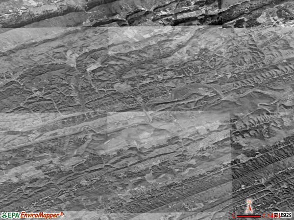 Kyles Ford satellite photo by USGS