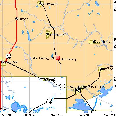 Lake Henry, MN map