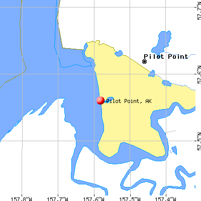 Pilot Point, AK map