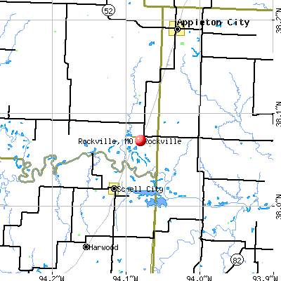 Rockville, MO map