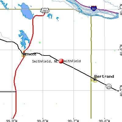Smithfield, NE map