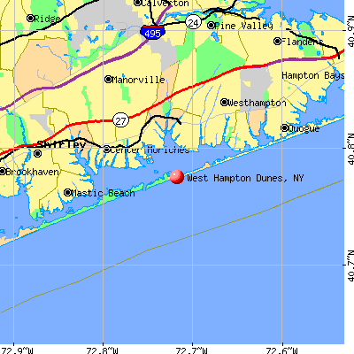 Singles in west hampton dunes ny Westhampton Beach NY Demographics data with population from census