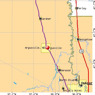 Argusville, North Dakota (ND 58005) profile: population, mapsargusville city