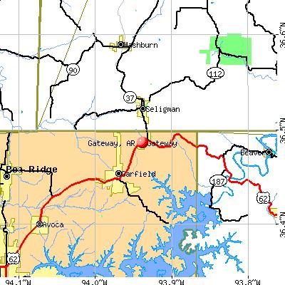 Gateway, AR map
