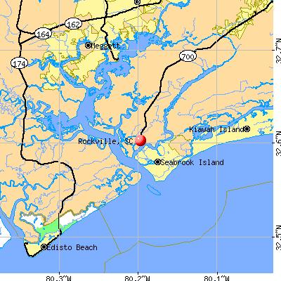 Rockville, SC map
