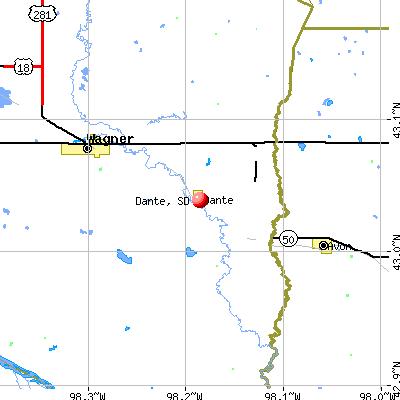 Dante, SD map