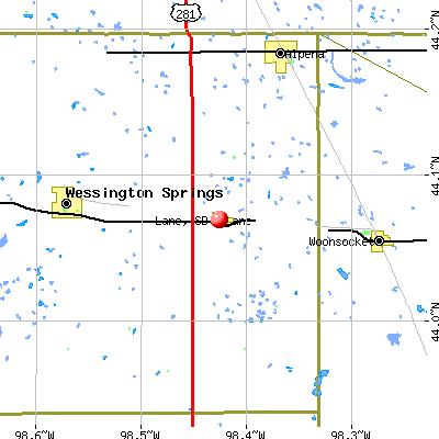 Lane, SD map