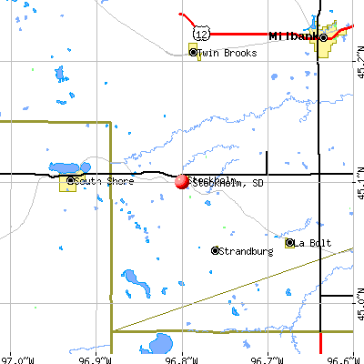 Stockholm, SD map