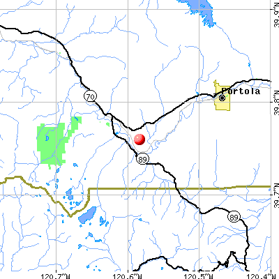 C-Road, CA map