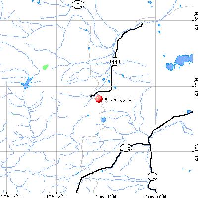 Albany Wyoming WY 82070 Profile Population Maps Real