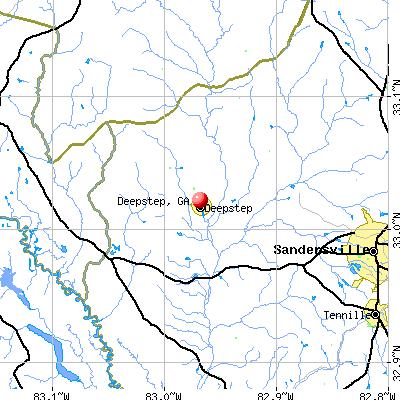 Deepstep, GA map