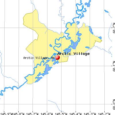 Arctic Village Alaska AK Profile Population Maps