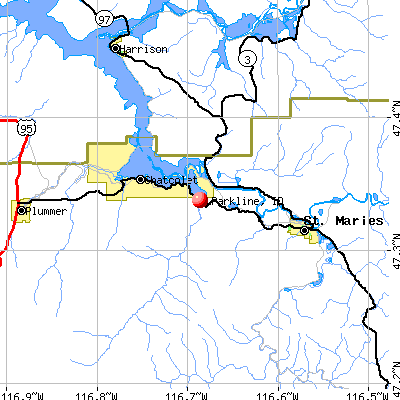 Parkline, ID map