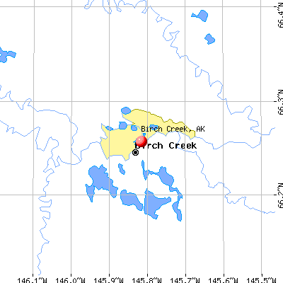 Birch Creek, AK map