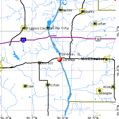 Florence, IL map