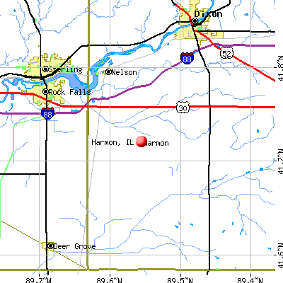 Harmon Illinois IL 61042 Profile Population Maps