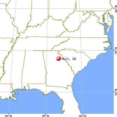 Hull Georgia GA 30646 Profile Population Maps Real Estate
