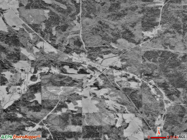 Ethelsville satellite photo by USGS