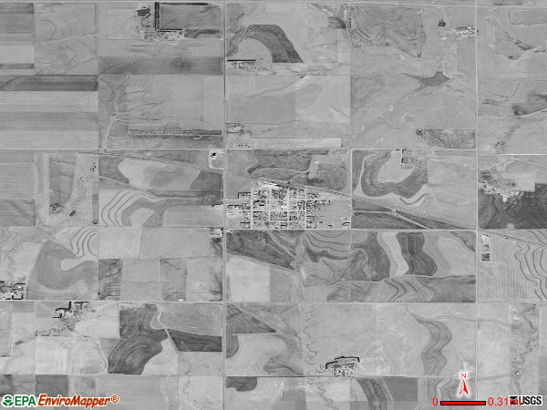 Olmitz satellite photo by USGS 