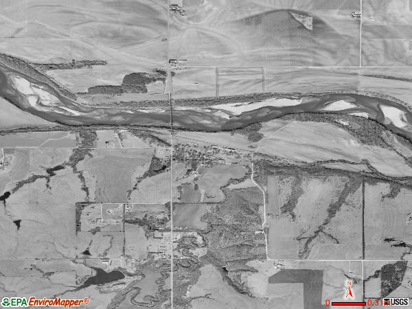 Willard satellite photo by USGS
