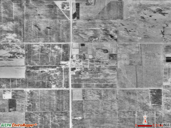 Goodridge satellite photo by USGS