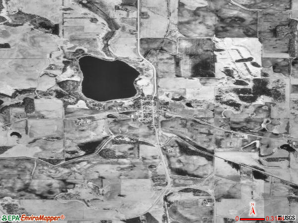 Kilkenny satellite photo by USGS
