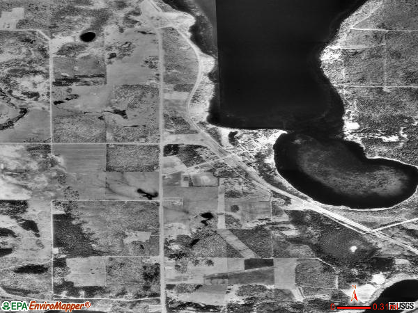 Laporte satellite photo by USGS