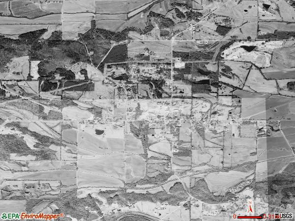 Kossuth satellite photo bykossuth village