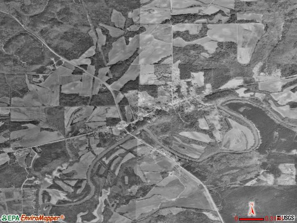 Gaylesville satellite photo by USGS