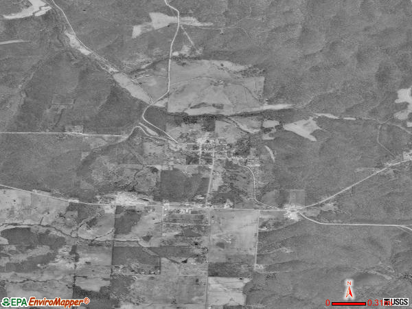 Climax Springs satellite photo by USGS