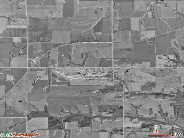 Rensselaer satellite photo by USGS
