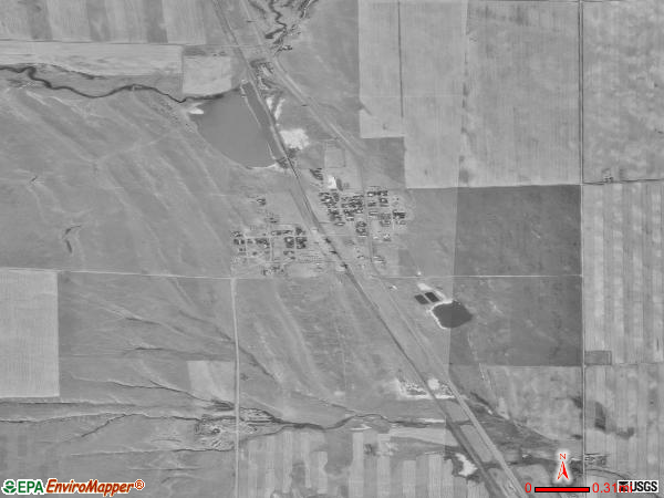 Broadview satellite photo by USGS 