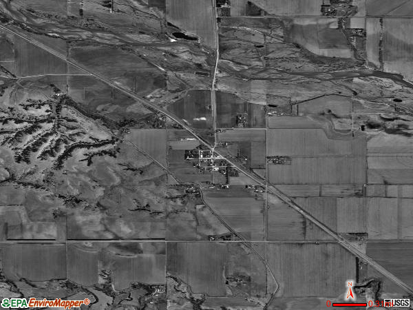 Elyria satellite photo by USGS