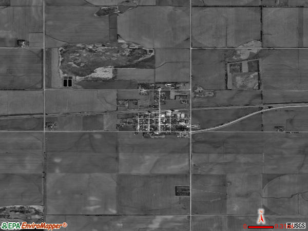 Grafton satellite photo by USGS 