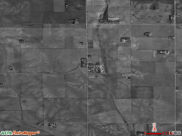Tarnov satellite photo by USGS