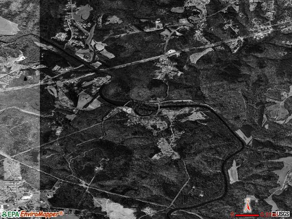 Spencer Mountain satellitespencer mountain town