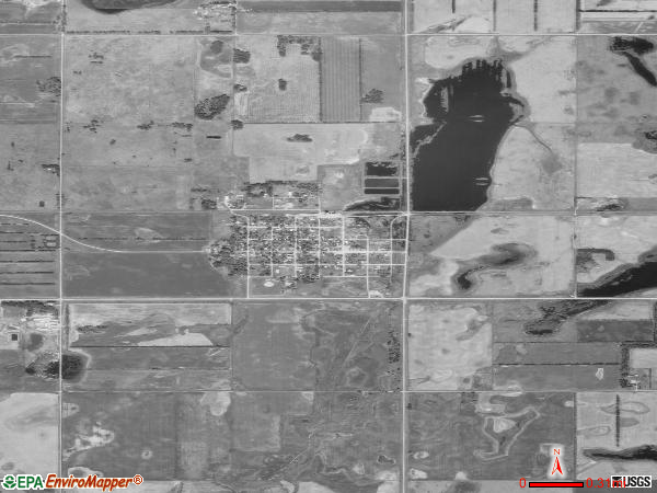 Cogswell satellite photo by USGS