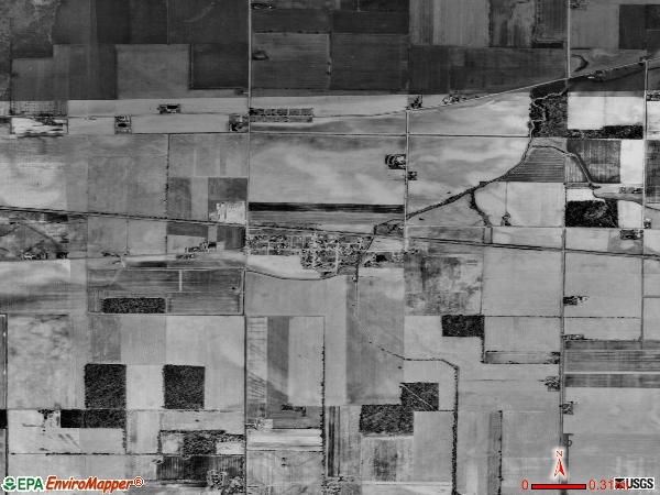 bairdstown satellite photo by