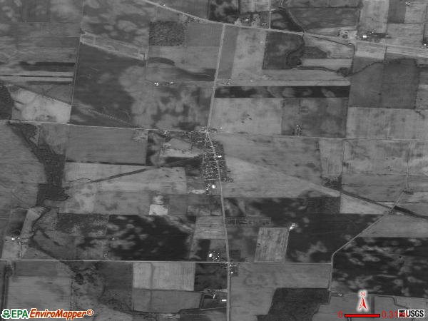 Milledgeville satellite photo by USGS