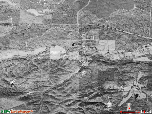 Lonsdale satellite photo by USGS