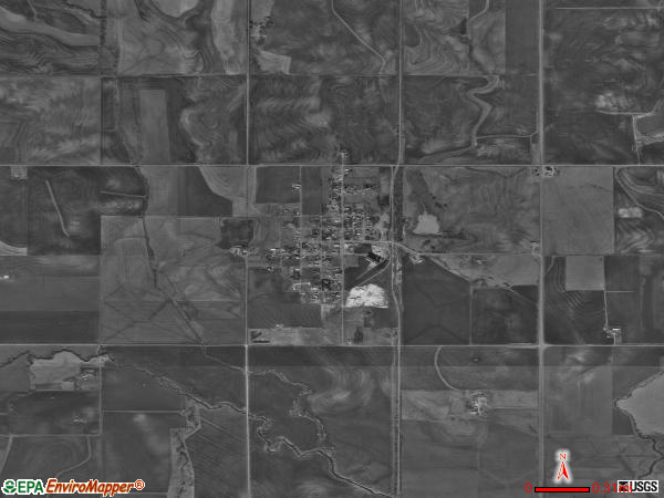 Bessie satellite photo by USGS
